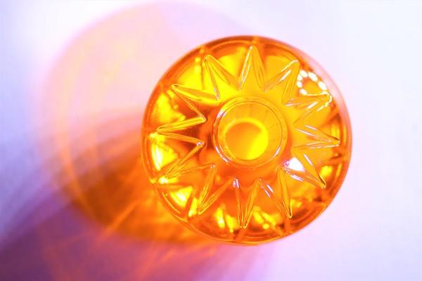 Star ring oranžový