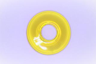 Donut střední žlutý