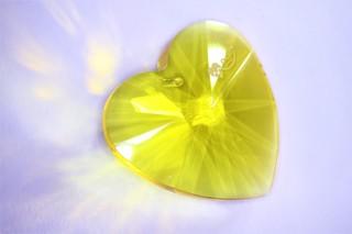 Srdce Sulfur žluté