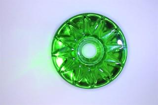 Star ring zelený