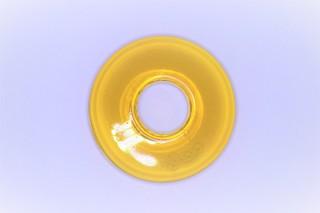 Donut střední zlatý topaz