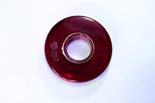 Donut střední vínový