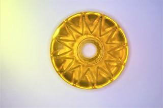 Star ring zlatý topaz