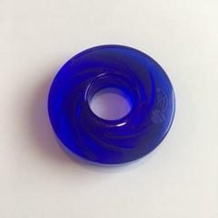 Donut malý tmavě modrý