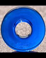 Donut střední tmavě modrý