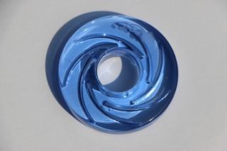 Donut velký světle modrý