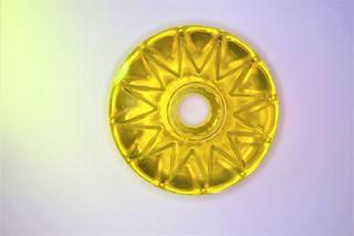 Star ring žlutý