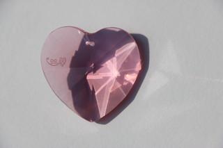 Srdce Růženín růžové