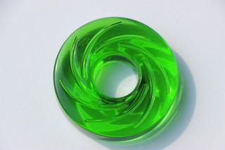 Donut velký zelený